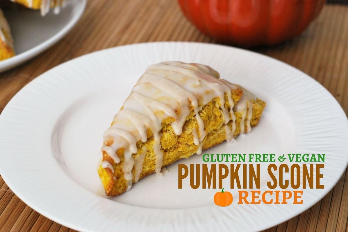 Gluten Free Dairy Free Vegan Recipes  EASY Gluten Free & Vegan Pumpkin Scone Recipe Starbucks