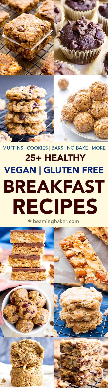 Gluten Free Dairy Free Vegan Recipes  25 Healthy Gluten Free Breakfast Recipes Vegan GF