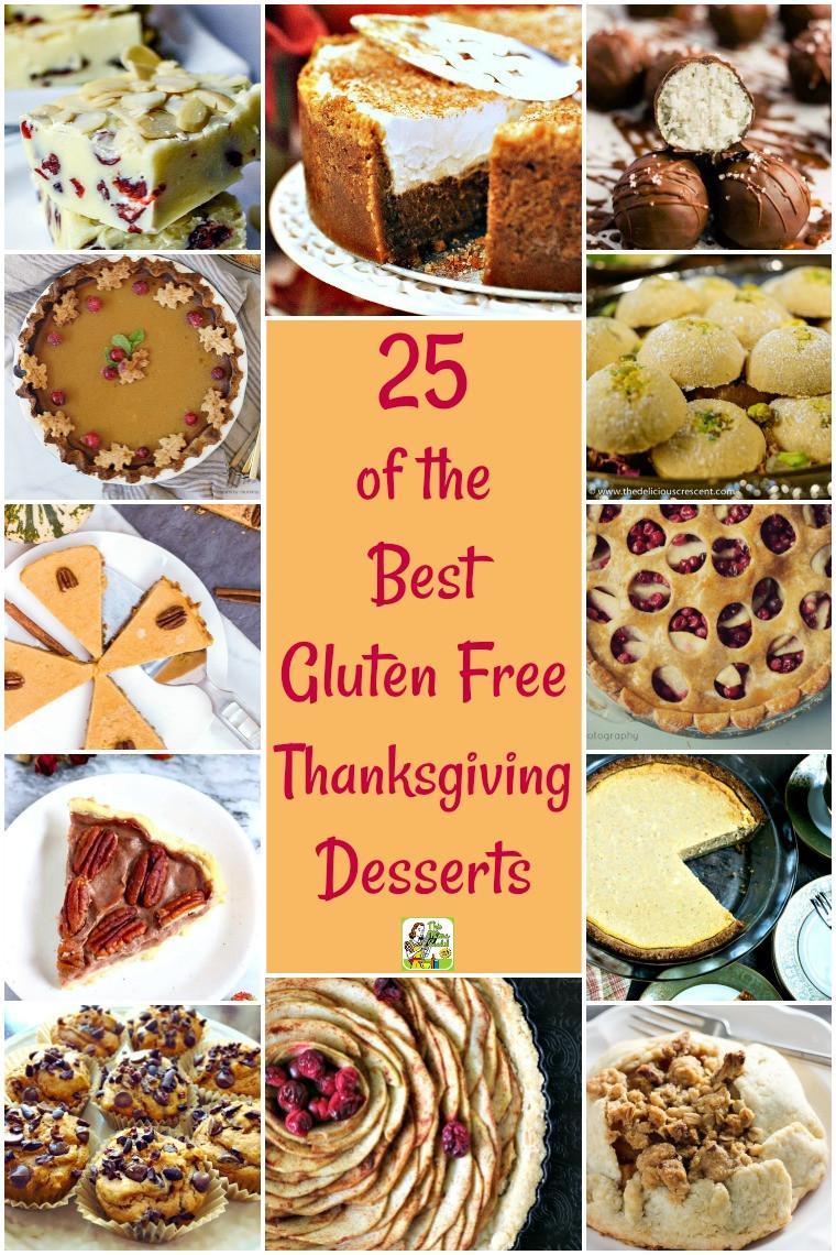 Gluten Free Dessert Ideas  25 of the Best Gluten Free Thanksgiving Desserts