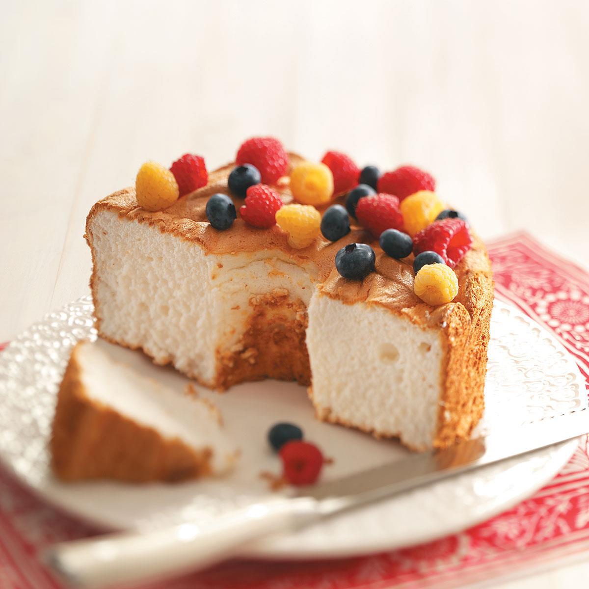 Gluten Free Dessert Ideas  Gluten Free Angel Food Cake Recipe