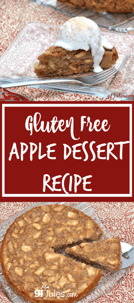 Gluten Free Dessert Recipes With Normal Ingredients  Gluten Free Apple Dessert so moist & normal with