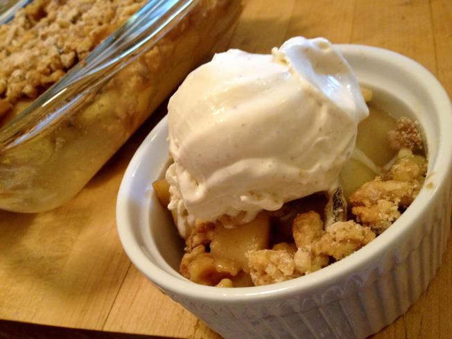Gluten Free Desserts Chicago  Wayne s Weekend Gluten Free Apple Crumble NBC Chicago