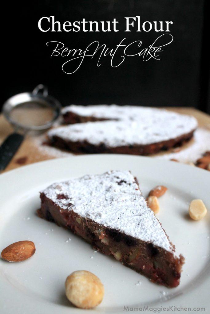 Gluten Free Desserts Chicago  Gluten Free Dessert Recipe Chestnut Flour Berry Nut Cake