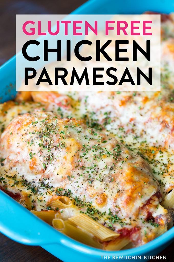 Gluten Free Diet Recipes  Gluten Free Chicken Parmesan