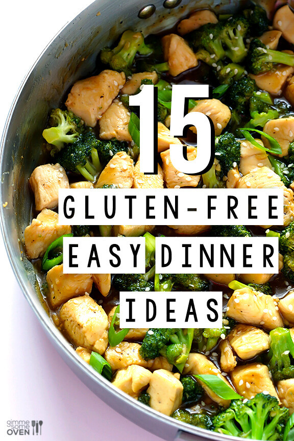Gluten Free Dinner Ideas  15 Gluten Free Easy Dinner Ideas