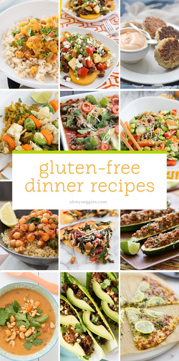 Gluten Free Dinner Ideas  Ve arian & Gluten Free Dinner Ideas Oh My Veggies