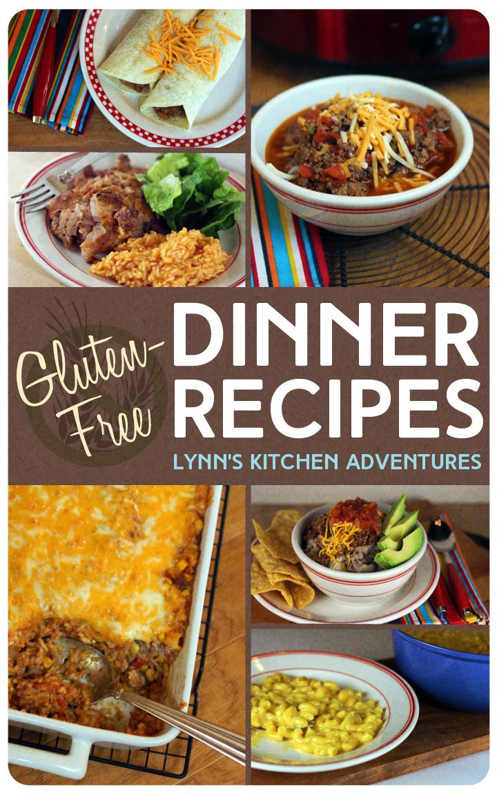 Gluten Free Dinners  Gluten Free Dinner Recipes Lynn s Kitchen Adventures