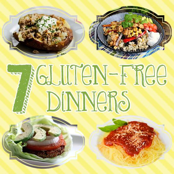 Gluten Free Dinners  7 Gluten Free Dinners Daily Mom