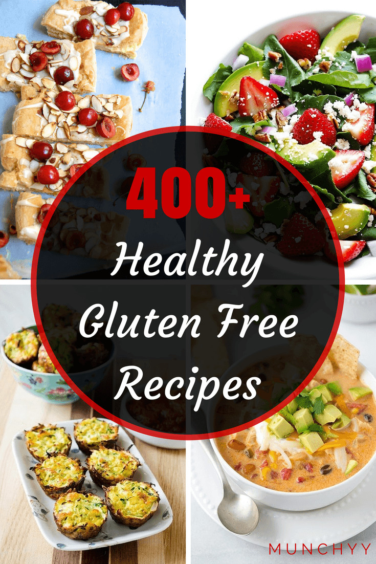 Gluten Free Food Recipes  400 Healthy Gluten Free Recipes that Are Cheap and Easy