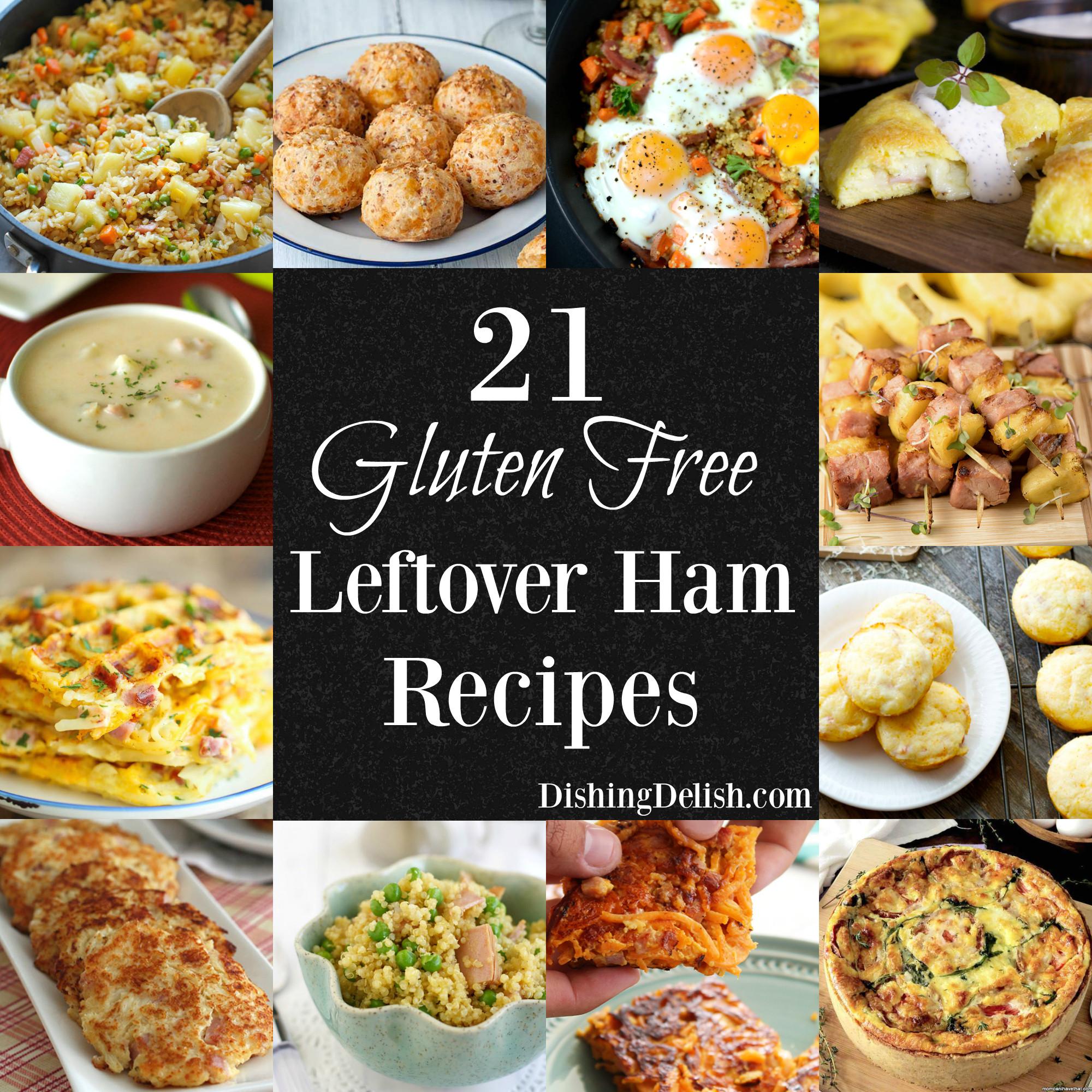 Gluten Free Food Recipes  21 Gluten Free Leftover Ham Recipes Dishing Delish