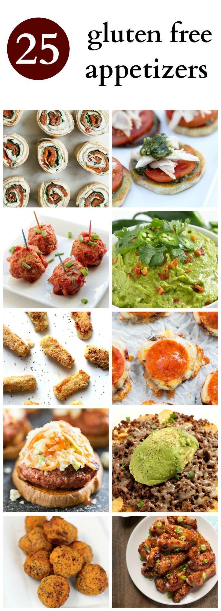 Gluten Free Foods Recipes  25 best ideas about Gluten Free Appetizers on Pinterest