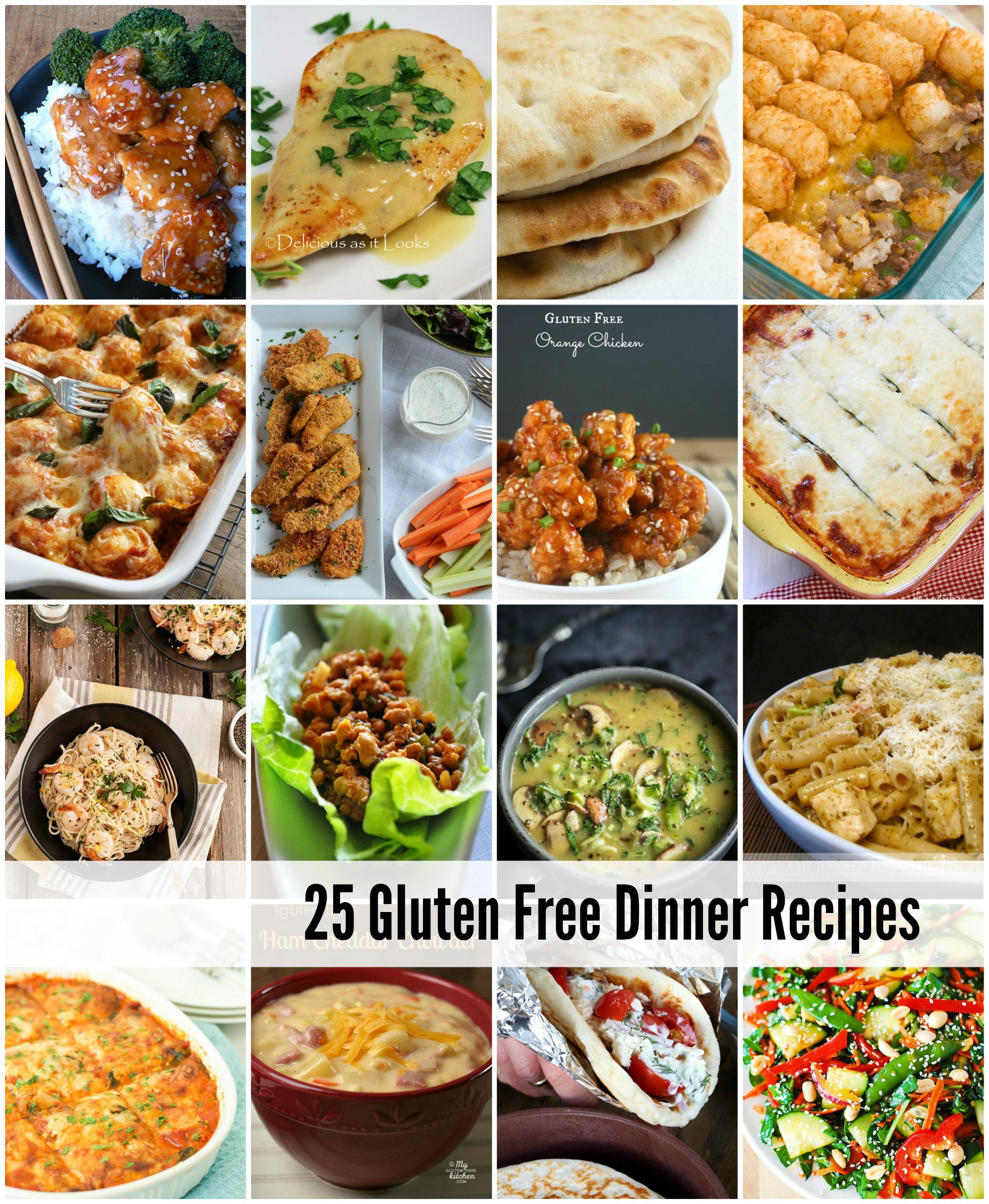 Gluten Free Foods Recipes  easy gluten free dinner recipes for family