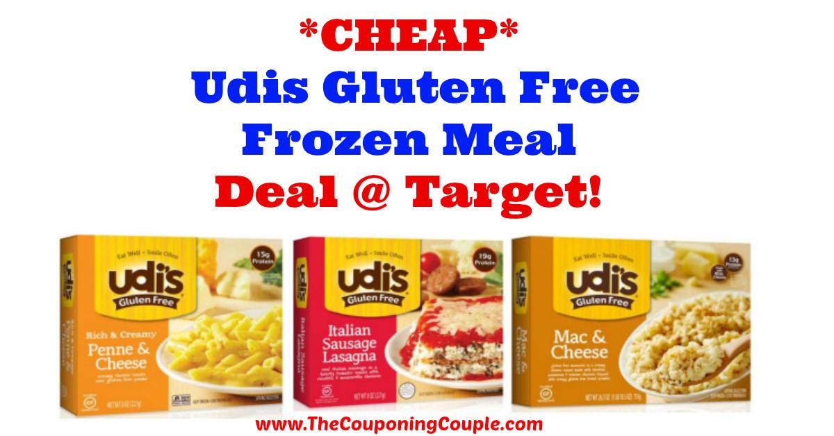 Gluten Free Frozen Dinners  CHEAP Udis Gluten Free Frozen Meal Deal Tar