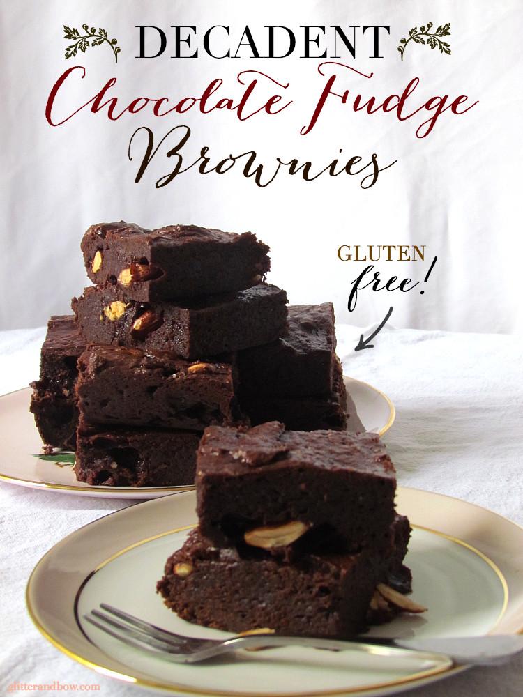 Gluten Free Fudge Brownies  Gluten Free Fudge Brownies