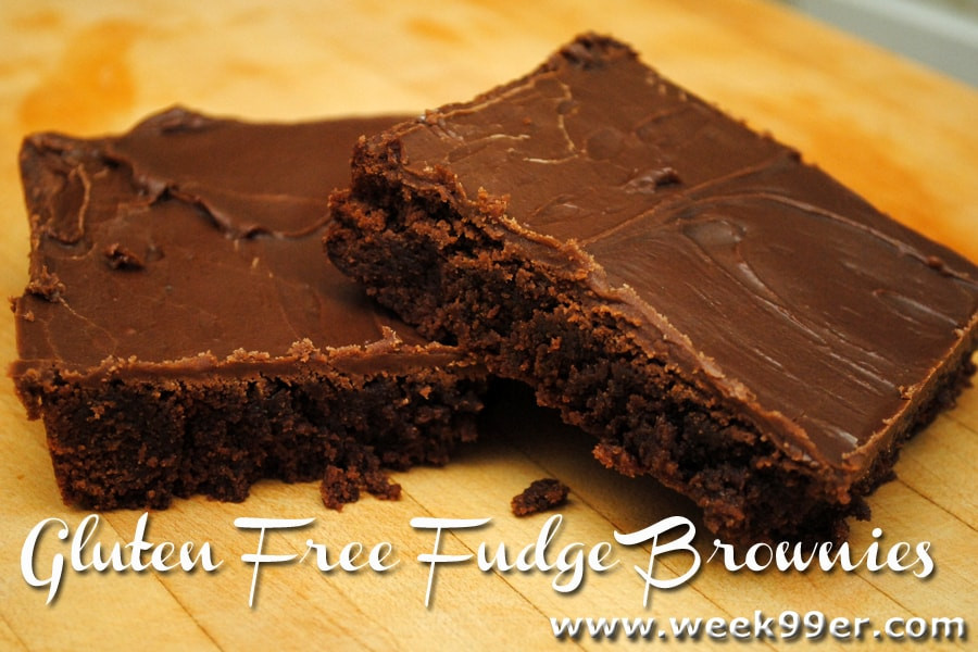 Gluten Free Fudge Brownies  Gluten Free Fudge Brownie Recipe