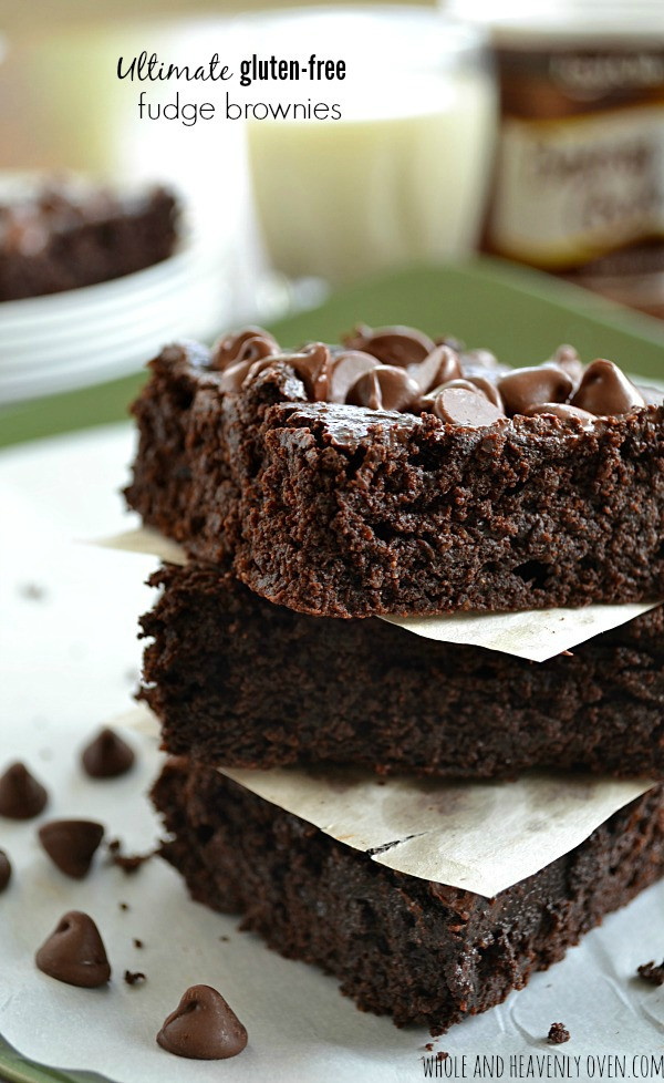 Gluten Free Fudge Brownies  Ultimate Gluten Free Brownies