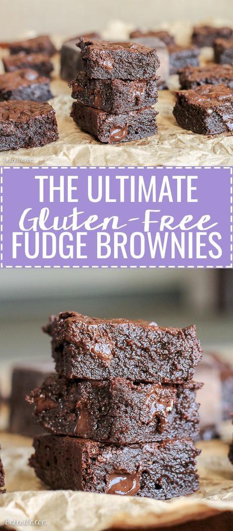 Gluten Free Fudge Brownies  Ultimate Gluten Free Fudge Brownies Paperblog