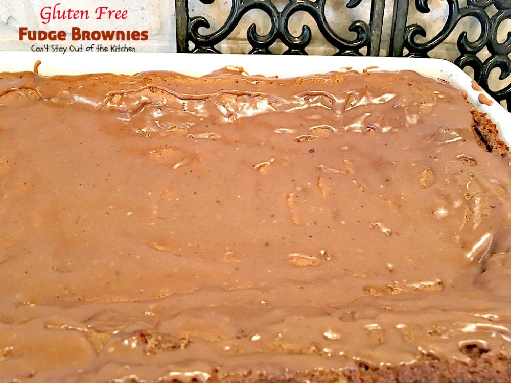 Gluten Free Fudge Brownies  Gluten Free Fudge Brownies Can t Stay Out of the Kitchen