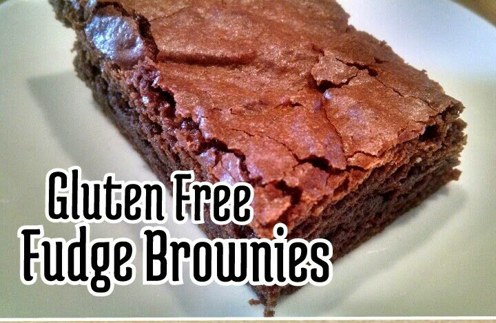 Gluten Free Fudge Brownies  Pers a Natalie Gluten Free Fudge Brownies