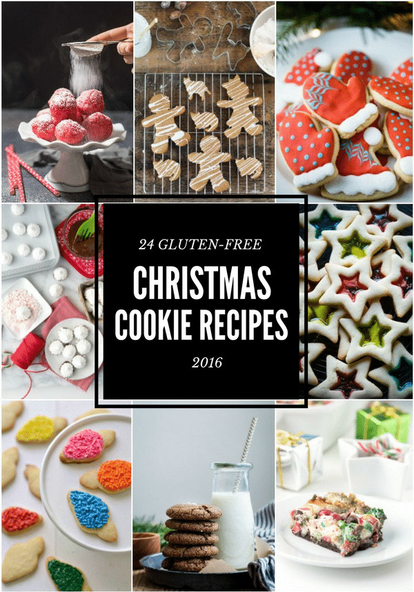 Gluten Free Holiday Cookie Recipes  24 Best Gluten free Christmas Cookie Recipes 2016