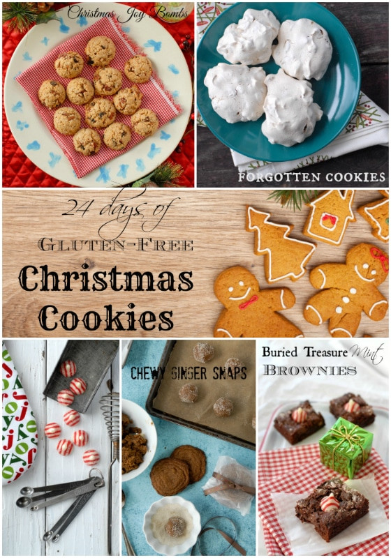 Gluten Free Holiday Cookie Recipes  24 Days of Gluten Free Christmas Cookie Recipes