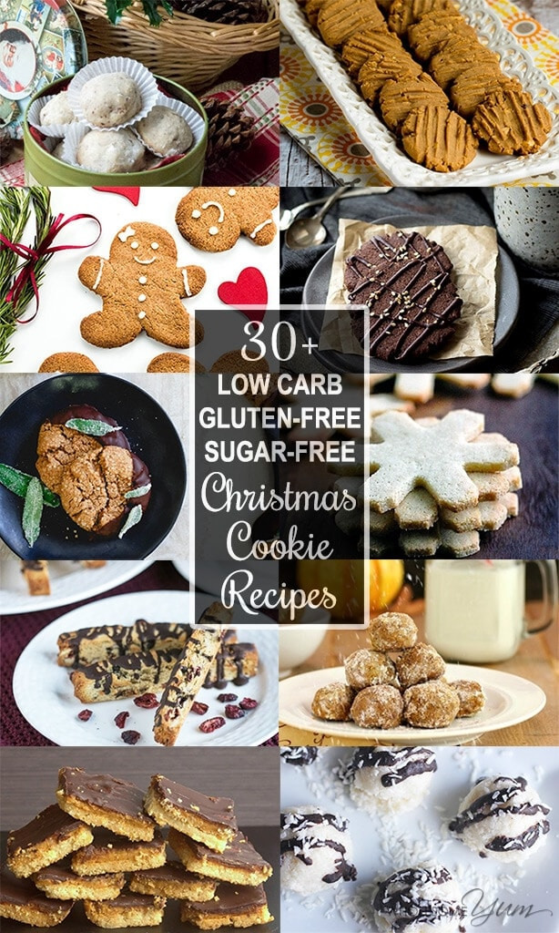 Gluten Free Holiday Cookie Recipes  30 Low Carb Sugar free Christmas Cookies Recipes Roundup