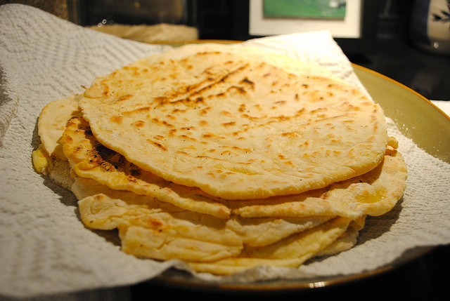 Gluten Free Indian Bread  Gluten Free Naan Roti Indian Flat Bread