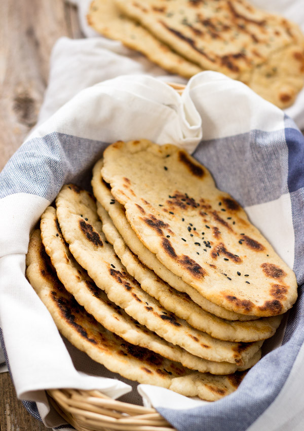Gluten Free Indian Bread  Gluten Free Naan Bread