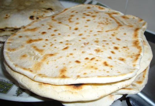 Gluten Free Indian Bread  Gluten Free Indian Plain Naan Bread Recipe Glebe Farm
