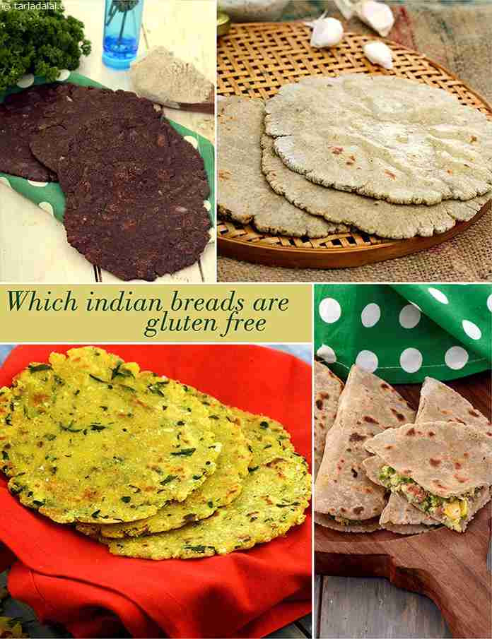 Gluten Free Indian Bread  Which Indian Breads are Gluten Free TarlaDalal