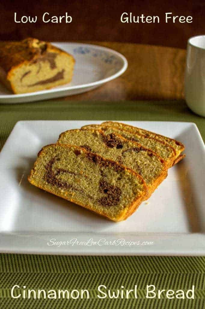 Gluten Free Low Carb Bread  Gluten Free Cinnamon Bread Low Carb