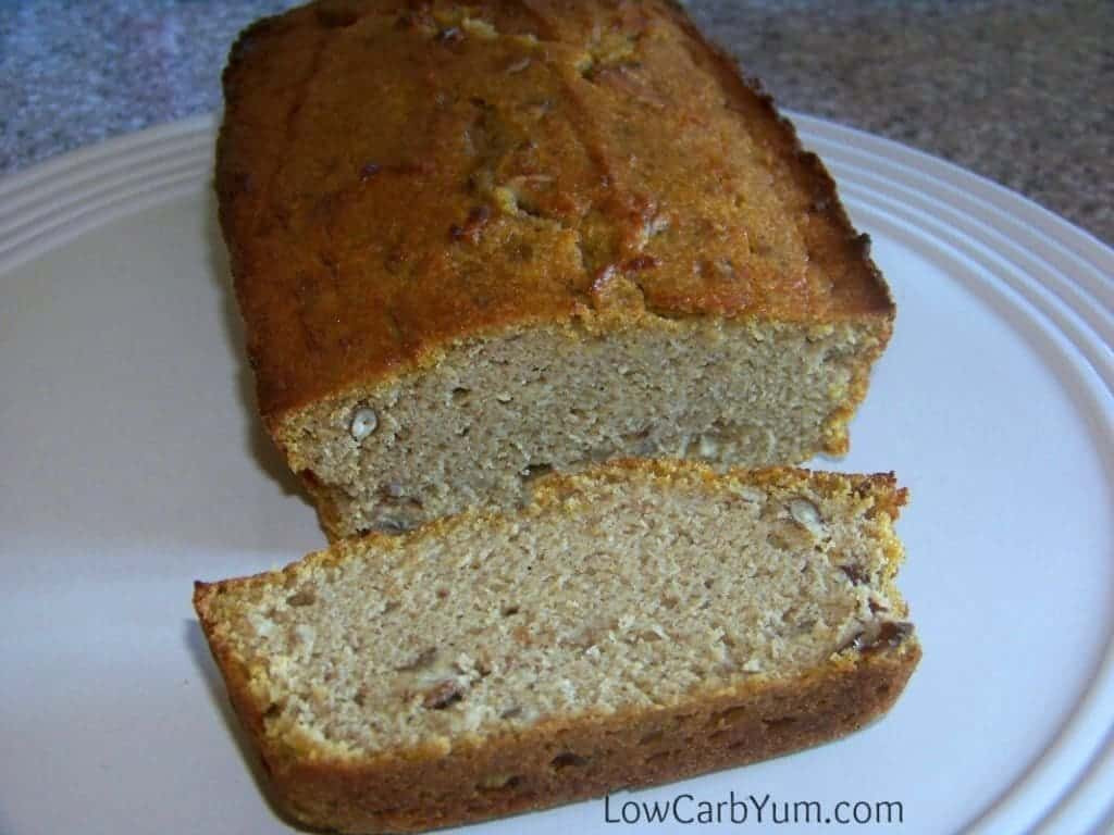 Gluten Free Low Carb Bread  Gluten Free Pumpkin Bread Coconut Flour Based
