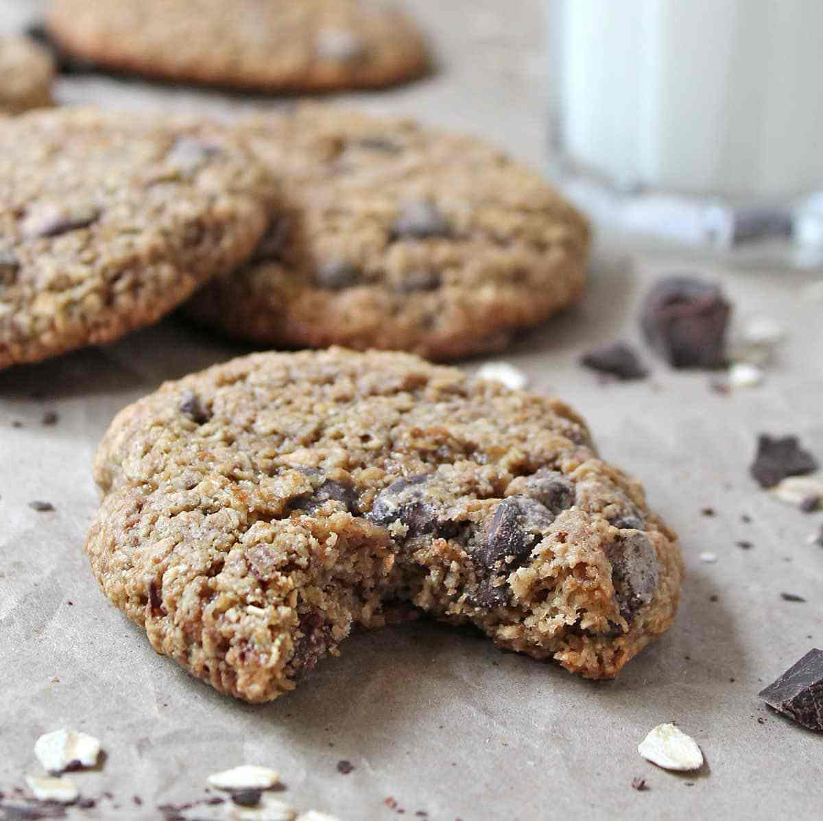 Gluten Free Oatmeal Chocolate Chip Cookies  My Favorite Gluten Free Oatmeal Chocolate Chip Cookies