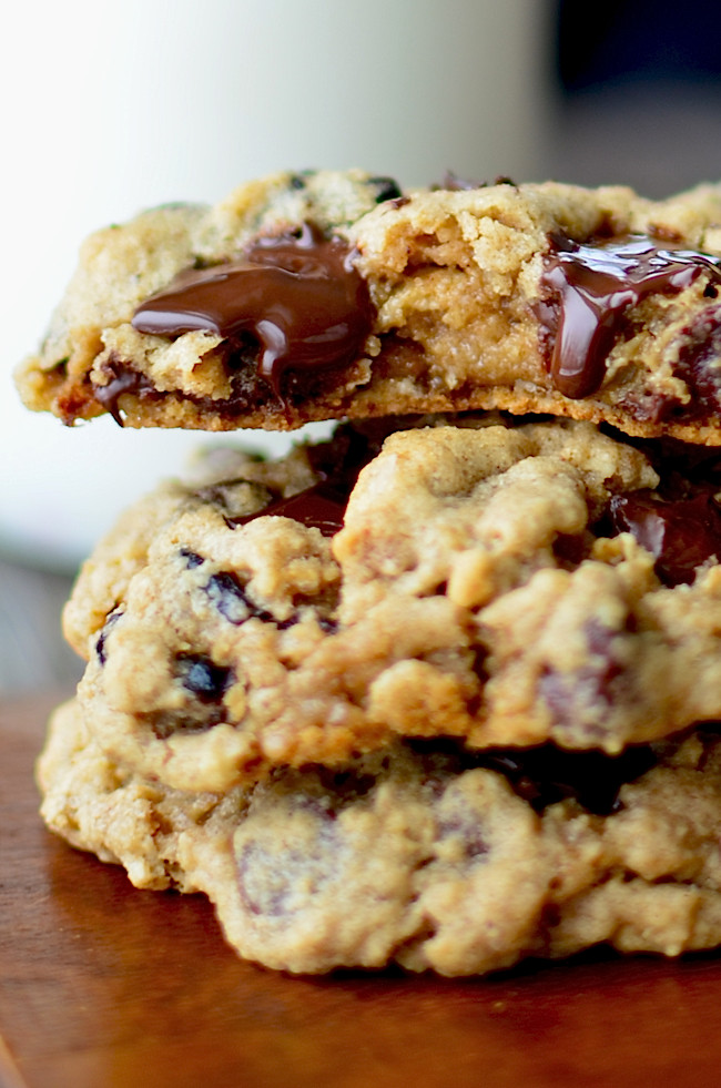 Gluten Free Oatmeal Chocolate Chip Cookies  gluten free oatmeal chocolate chip cookies