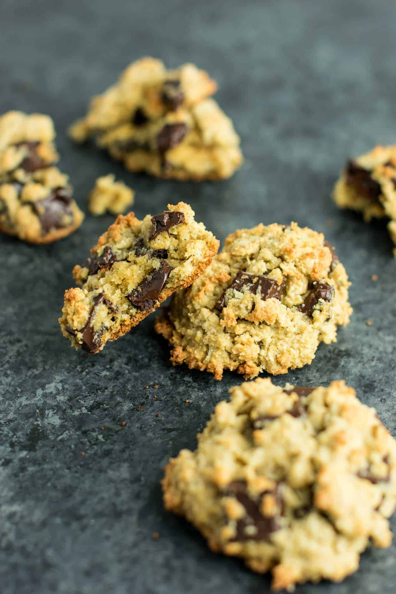 Gluten Free Oatmeal Chocolate Chip Cookies  Gluten Free Oatmeal Chocolate Chip Cookies Recipe with