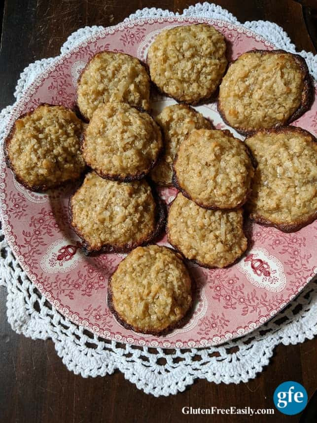 Gluten Free Oatmeal Coconut Cookies  Gluten Free Oatmeal Cookie Recipes Over 60 of Them