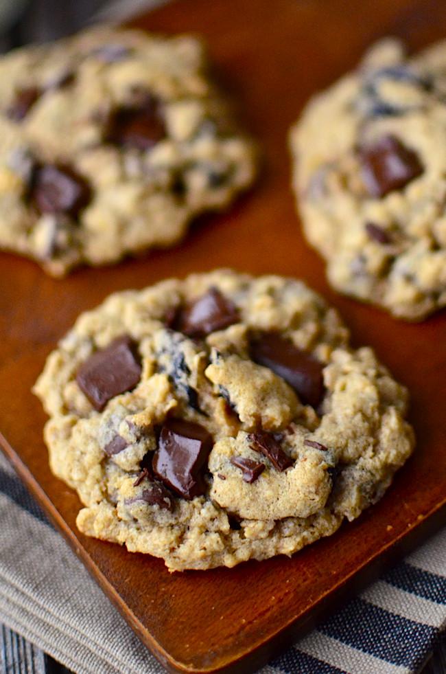 Gluten Free Oatmeal Cookies  Yammie s Noshery The Best Gluten Free Oatmeal Cookies
