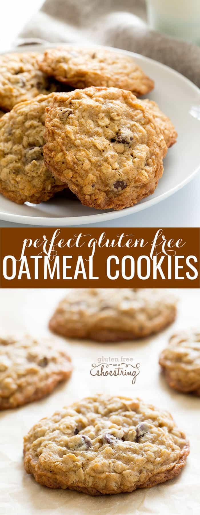 Gluten Free Oatmeal Cookies  Gluten Free Oatmeal Cookies