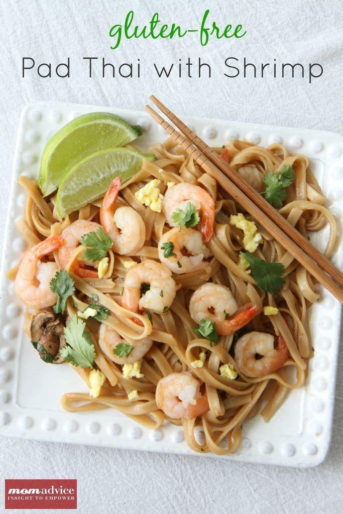 Gluten Free Pad Thai Recipe  Gluten Free Pad Thai With Shrimp MomAdvice