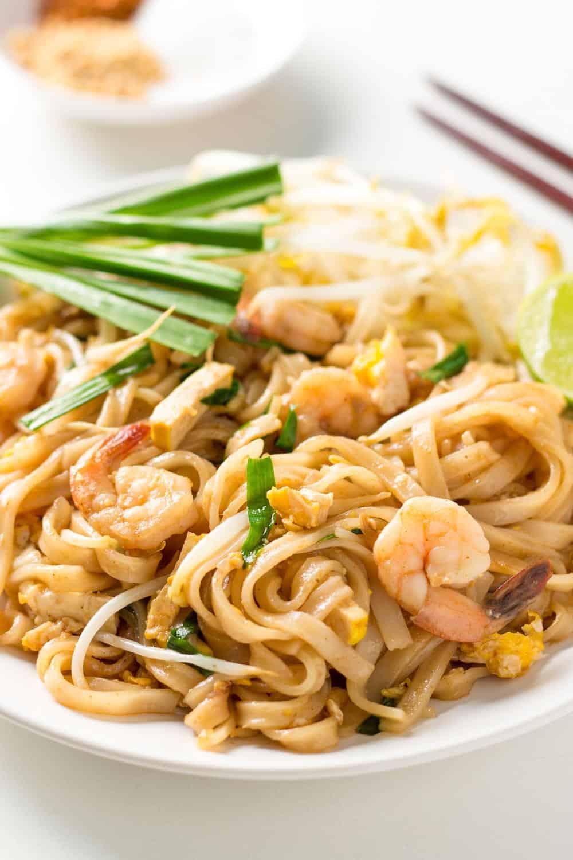 Gluten Free Pad Thai Recipe  gluten free shrimp pad thai