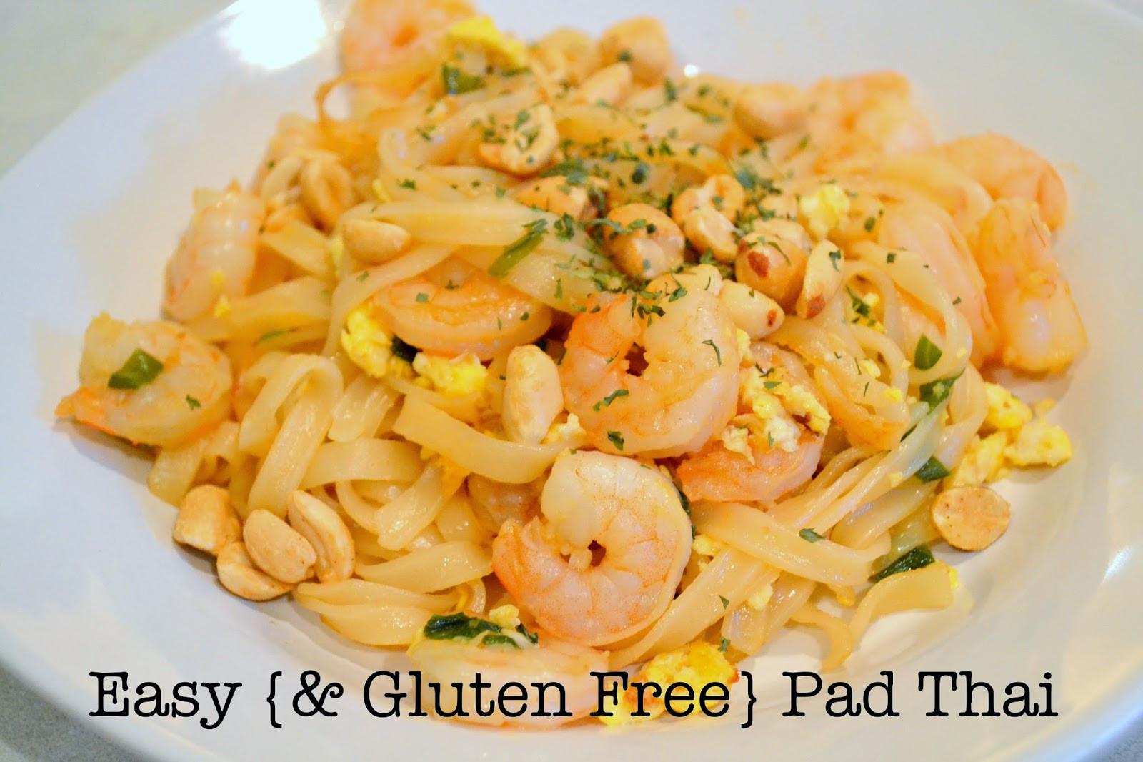 Gluten Free Pad Thai Recipe  megan camille Easy gluten free Pad Thai