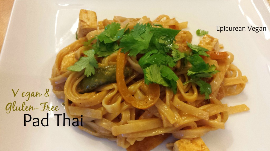 Gluten Free Pad Thai Recipe  Vegan & Gluten Free Pad Thai