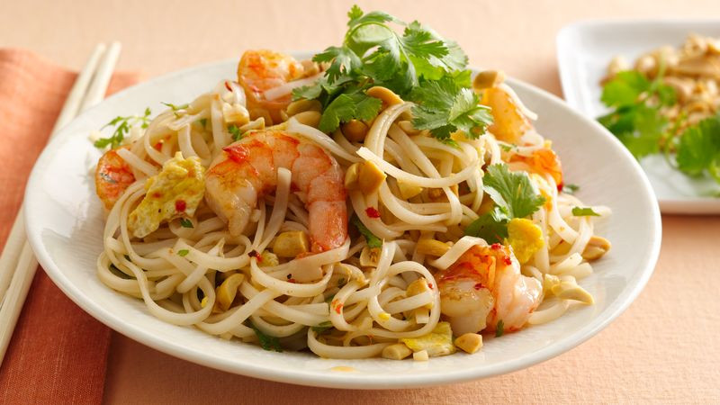 Gluten Free Pad Thai Recipe  Gluten Free Shrimp Pad Thai recipe from Betty Crocker