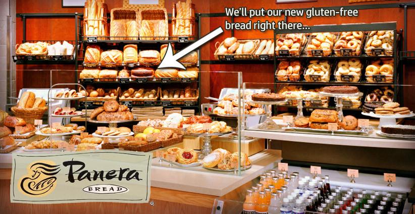 Gluten Free Panera Bread Menu  panera gluten free bread