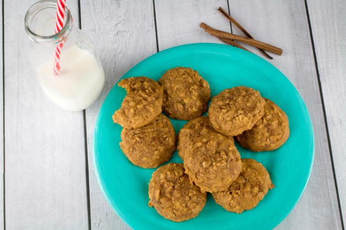 Gluten Free Pumpkin Oatmeal Cookies  Soft Baked Gluten Free Pumpkin Oatmeal Cookies