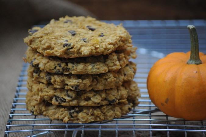 Gluten Free Pumpkin Oatmeal Cookies  Gluten free Pumpkin Oatmeal Cookies The Pioneer Chicks