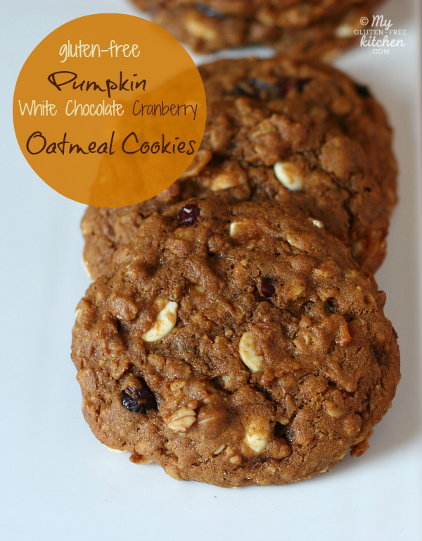 Gluten Free Pumpkin Oatmeal Cookies  Over 60 Gluten Free Oatmeal Cookie Recipes