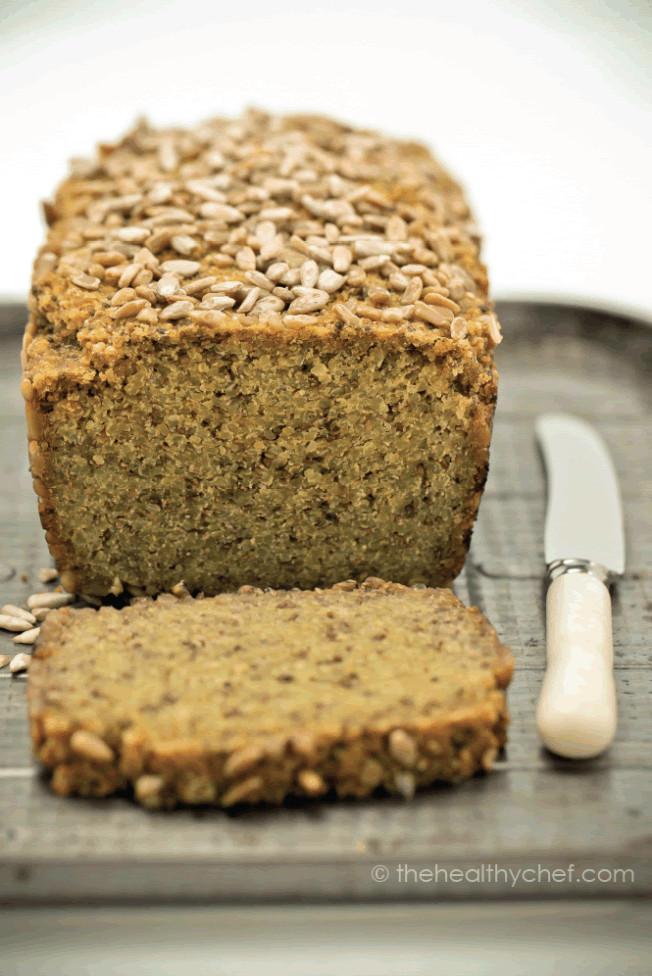 Gluten Free Quinoa Bread  Gluten Free Yeast Free Quinoa and Chia Seed Bread