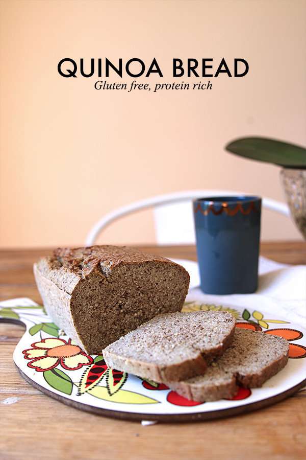 Gluten Free Quinoa Bread  Quinoa Bread Gluten Free Protein Rich The Whole Daily