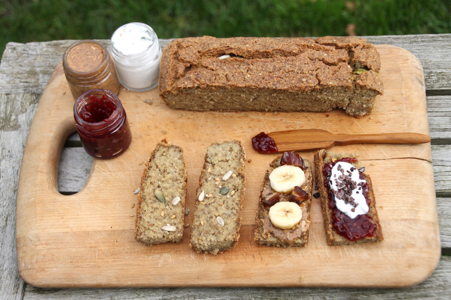 Gluten Free Quinoa Bread  Gluten Free Seeded Quinoa & Chia Bread Hip & Healthy